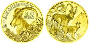 Золотая монета Австрии