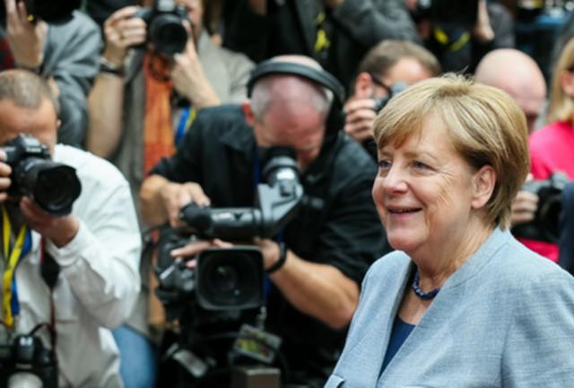 Консерваторы Меркель