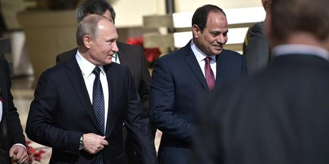 Лидеры РФ и Египта