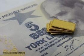 Турция: импорт золота в