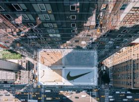 Акции Nike падают на 5%
