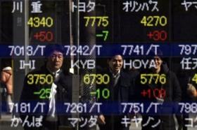 Акции Азии в основном