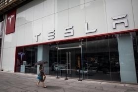Продажи Tesla в Китае