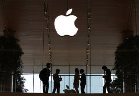 Акции поставщиков Apple