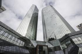 Акции Deutsche Bank и