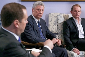 Медведев: украинские