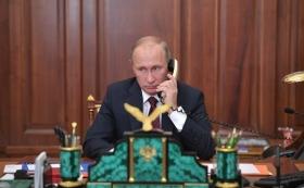 Путин обсудил с Макроном