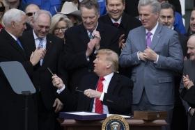 Трамп подписал новое