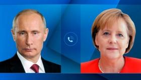Путин и Меркель обсудили