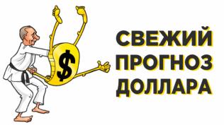 Прогноз доллара на 10-16